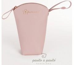 Pasito a Pasito - Porta biberões rosa - Elodie