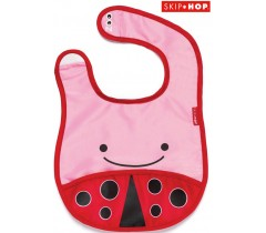 Skip Hop - ZOO BIB LADY BUG