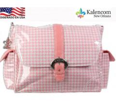 Kalencom - Bolsa de maternidade Buckkle Bag, Chantel Fresa
