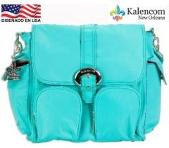Kalencom - Bolsa de maternidade Duty Bag, Aqua