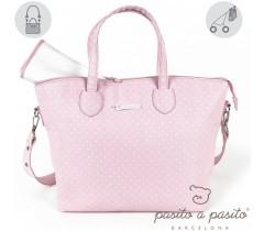 Pasito a Pasito - Bolsa de maternidade rosa - Atelier