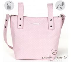 Pasito a Pasito - Bolsa para carrinho de paseio rosa - Atelier