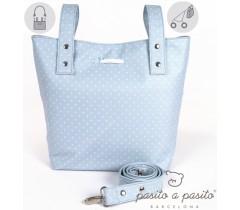 Pasito a Pasito - Bolsa para carrinho de paseio azul - Atelier