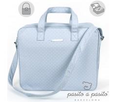 Pasito a Pasito - Bolsa de maternidade azul - Atelier