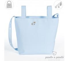 Pasito a Pasito - Saco carrinho de bebé Elodie, Azul