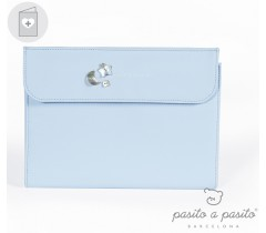 Pasito a Pasito - Porta documentos Elodie, Azul