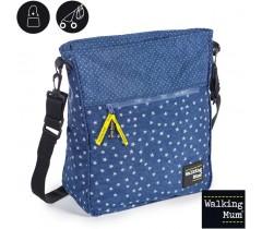 Walking Mum - Saco carrinho de bebé Denim Baby, Azul
