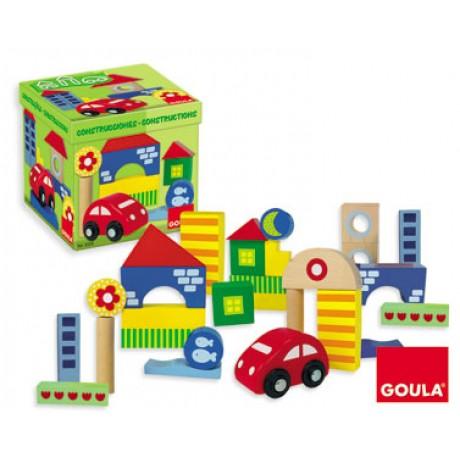 Goula - Kit construções, 41 peças
