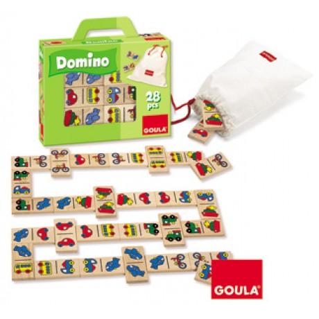 Goula - Dominó, veículos, 28 peças