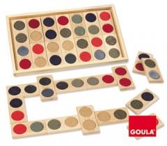 Goula - Dominó táctil, 28 peças