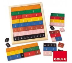 Goula - Iniciação às fracções, 39 peças