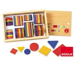 Goula - Blocos lógicos 1, 48 peças