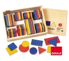 Goula - Blocos lógicos 2, 48 peças