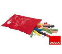 Goula - Barras 10 x 10, bolsa, 55 peças