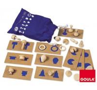 Goula - Percepção táctil e associação 2, 36 peças