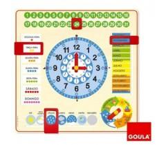 Goula - Relógio calendário