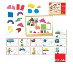 Goula - Formas e Figuras, 36 peças