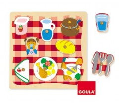 Goula - Puzzle, sala de jantar, 8 peças