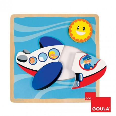 Goula - Puzzle Avião