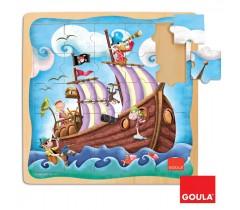 Goula - Puzzle Barco Pirata