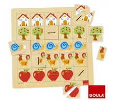 Goula - Associação de metades, 45 peças