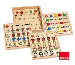 Goula - Jogo situações e posições, 64 peças