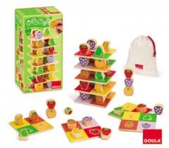 Goula - Torre de frutas, 60 peças
