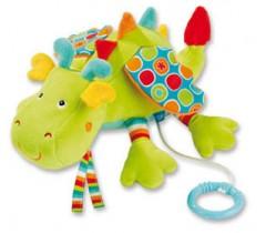 Baby Fehn - Dragão verde musical, reclinado