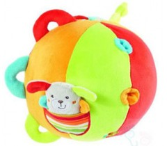 Baby Fehn - Bola Grande Actividades, Cãozinho - Com guizo