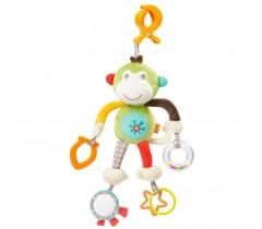 Baby Fehn - Boneco de Agarrar monkey com Actividades