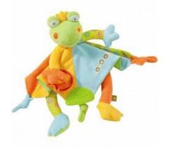 Baby Fehn - Rei Sapo Lolo de Agarrar de Actividades, Verde