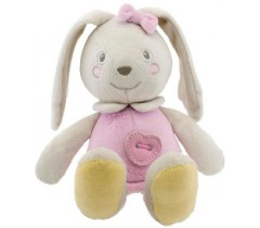 Chicco - Boneco Soft Colors Rosa
