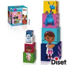 Diset - Cubos empilháveis Dra. Brinquedos