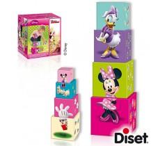 Diset - Cubos empilháveis Minnie