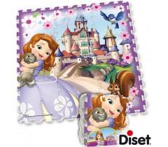 Diset - Puzzle Foam Princesa Sofia