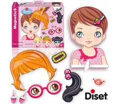 Diset - Magnetics Cambia el look de Sara