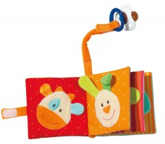 Baby Fehn - Livro Porta chupeta (3m+)