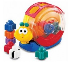Fisher Price - Caracol blocos e música