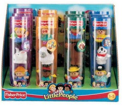 Fisher Price - Sortido tubos de figuras Little People