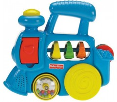 Fisher Price - Sortido conjuntos sons surpresa (comboio)
