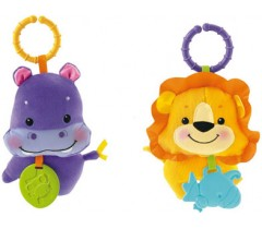 Fisher Price - Sortido de peluches com elo Amiguinhos do Planeta