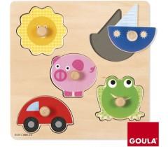 Goula - Puzzle 5 cores