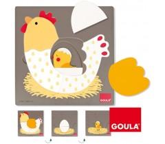 Goula - Puzzle Galinhas