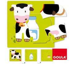 Goula - Puzzle vaca