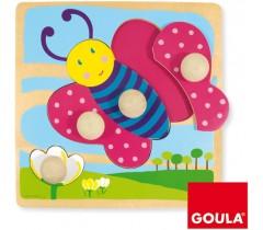 Goula - Puzzle borboleta