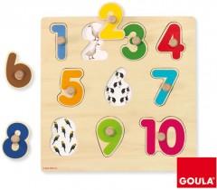 Goula - Puzzle numeros