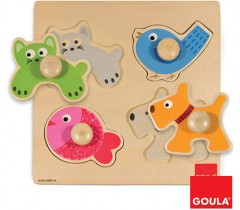 Goula - Puzzle animais domésticos