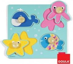 Goula - Puzzle animais marinhos