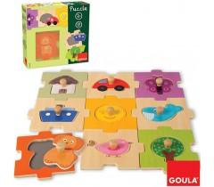 Goula - Puzzle intermutável