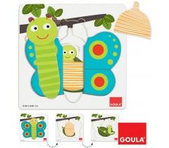 Goula - Puzzle da borboleta
